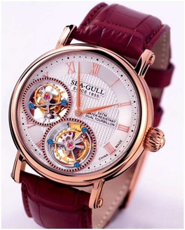 Tourbillon Sea-Gull : calibre ST82