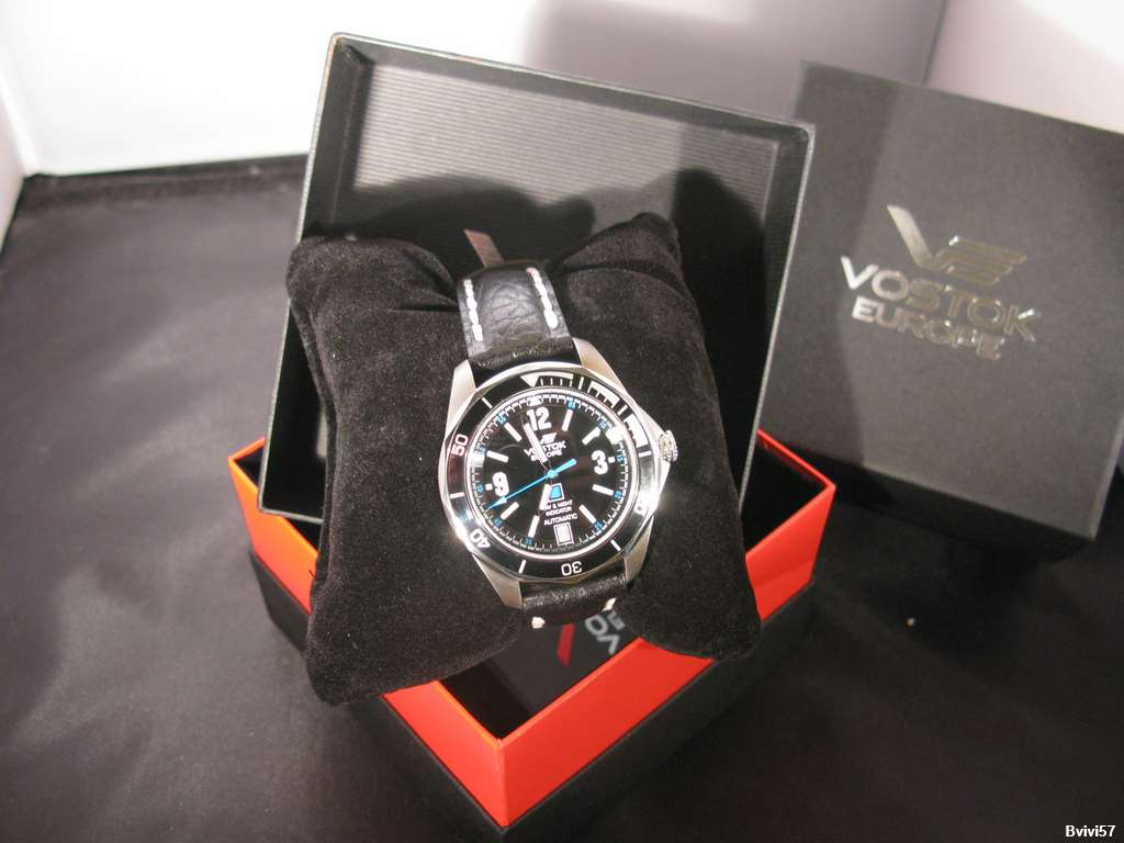 Montre Vostok Europe K3 Submarine 2008