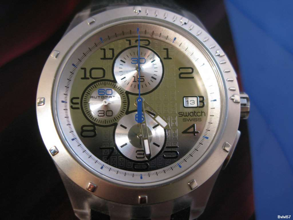 Swatch Chrono Automatic - Cadran